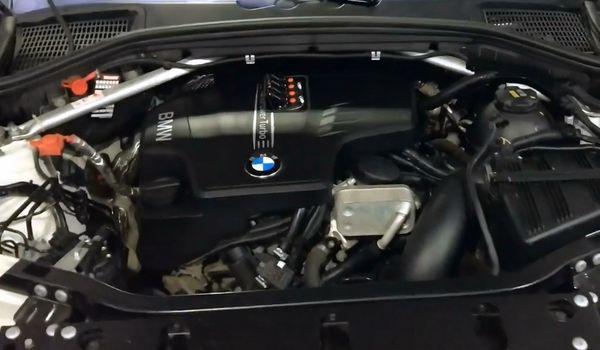 Установка гбо на BMW X3 F25 2.0 прямой впрыск