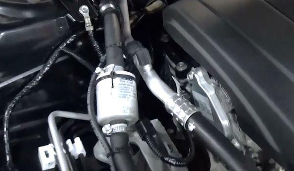 Установка гбо на Mazda 3 Skyactiv 2016