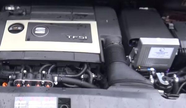 Установка гбо на Seat Altea 4 Freetrack 2.0 TFSI