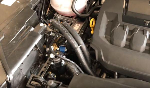 Газ на Skoda Kodiaq 2.0 TSI 2019 8 форсунок