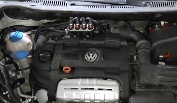 Газовое оборудование на Volkswagen Touran 1.4 TSI